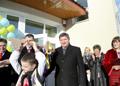 Михайло Костюк відкрив новозбудовану школу у Золочівському районі