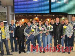Львівщина урочисто зустріла олімпійців-санкарів з Сочі (Фото)