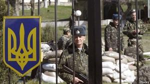 Жодна військова частина Криму не склала зброю