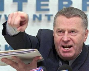 Жириновський вимагає розколу України