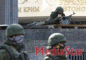 Військові у Феодосії відмовилися від пропозицій озброєних людей