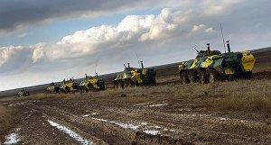 Остаточне захоплення українського полку в с. Чорноморське