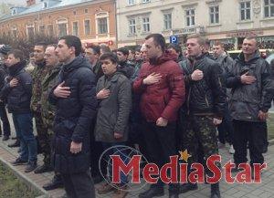 Львівські штаби самооборони формують «афганці» та офіцерський склад