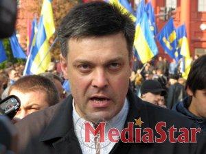 Тягнибок переконаний у готовності Мірошниченко зняти з себе депутатську недоторканність