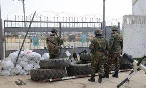 Затримання командирів українських морпехів в Феодосії