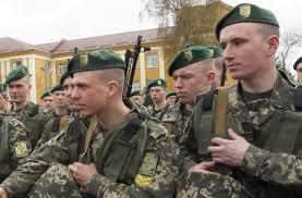Участники антитеррористической операции в Донецке получили Памятный знак За воинскую доблесть.