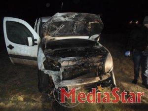 На Донеччині активіста Євромайдану спалили разом з авто