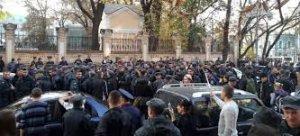 Прокуратура відкрила кримінальне провадження проти нацгвардійців, які мітингували під АП