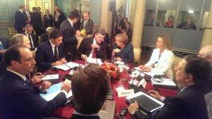 В Мілані триває зустріч Порошенка і Путіна