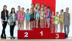 У Львові завершився міжнародний турнір з художньої гімнастики