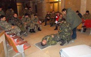 Американські медики вчили військових у зоні АТО