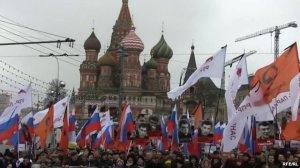 50 тисяч москвичів пом'янули Нємцова. Акції у багатьох містах Росії