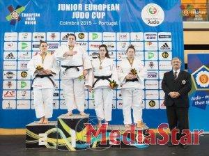 Львів'янка  стала переможницею юніорського  Кубка Європи з дзюдо