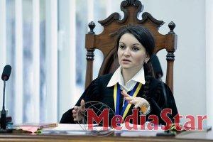 Від посади відсторонена суддя Царевич