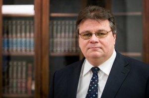 Голова МЗС Литви розповів про артобстріл під час його візиту в Широкине