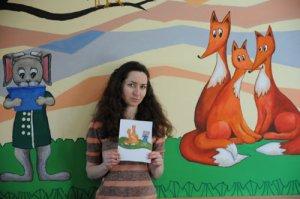 Київська художниця Олена Малашенко розмалювала стіни у Чорнобильській лікарні
