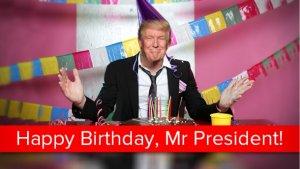 День народження Дональда Трампа: найсоковитіші курйози за час президентства