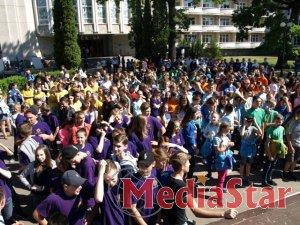 500 дітей з усієї України знайомилися з професіями на території табору «Артек»