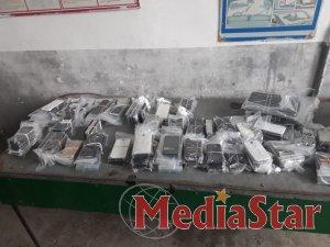 Працівники Львівської митниці ДФС митниці вилучили понад 200 мобільних телефонів.