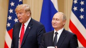 Bloomberg: На зустрічі з Трампом Путін запропонував провести референдум на Донбасі