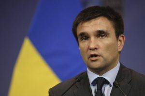 Клімкін про Кримську декларацію США: Маємо зміцнити зусилля і тиснути на Росію