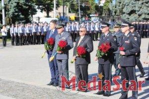 Правоохоронці вшанували пам'ять побратимів, які загинули під час виконання службових обов'язків
