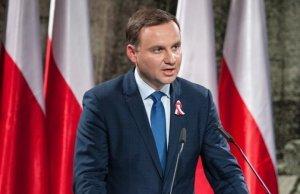 Дуда запевнив Україну у підтримці та нагадав про потребу діалогу щодо історії