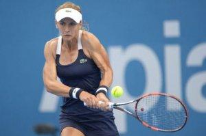 Цуренко вперше в кар'єрі пробилась в чвертьфінал турніру Grand Slam