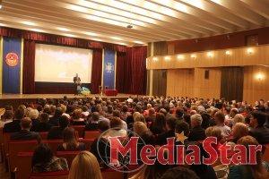 До Дня захисника України: голова облради привітав працівників СБУ