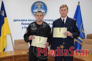 Двох працівників податкової міліції Закарпаття нагородили відзнаками Президента України