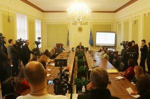 Олександр Ганущин прозвітував про третій рік роботи Львівської обласної ради VІІ скликання