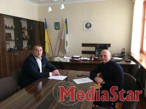 Робоча зустріч з керівництвом Винниківської міської ради.