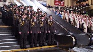 У музичному флешмобі до Дня українського добровольця взяв участь хор ансамблю Держприкордонслужби
