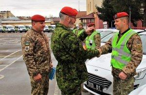 У Львові  підрозділи військової служби правопорядку ЗС України отримали технічну допомогу від уряду Канади