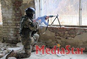На Львівщині бійці підрозділу «OPFOR» відпрацювали тактику бою в місті
