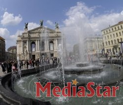 На площі перед Оперним театром облаштують сухий фонтан