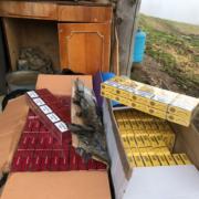 73 ящики сигарет виявили прикордонники у будинку лісника