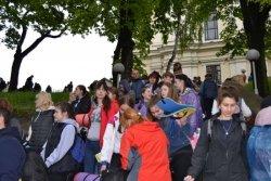 Сьогодні зі Львова до Унева вирушила молодіжна піша проща