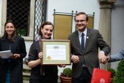 З нагоди Міжнародного дня музеїв відбулося нагородження дипломами та подяками кращих працівників музейних закладів міста Львова