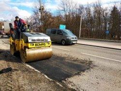 Поточний і аварійний ремонт доріг у Львові: вже відремонтували 75229,5 м² дорожнього покриття