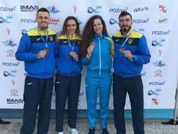 Українські веслувальники виграли 3 медалі на етапі Кубка світу в Польщі