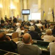 Олександр Ганущин прозвітував про свою роботу перед депутатським корпусом Львівської обласної ради
