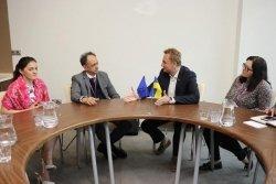 Мер Львова зустрівся з головою Представництва ЄС в Україні