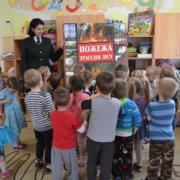 """ДП """"Бібрський лісгосп"""": вихованцям дитячого садочка розповіли про ліс та правила поведінки в ньому"""