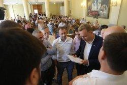 Мер Львова позитивно оцінює практику години запитань до мера під час сесії