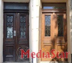 Відновлено дерев'яну браму в будинку на вул. Короленка, 2: вартість робіт 50,1 тис. грн