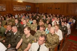 Місто привітало військових медиків з Днем медичного працівника