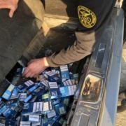 Упродовж останніх вихідних працівники Львівської митниці ДФС вилучили майже дві тонни товарів