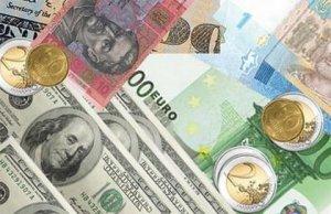 Гривня подешевшала до євро на 30 копійок