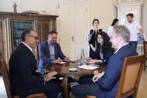 Мер Львова обговорив із гендиректором Nestle в Україні інвестиційний клімат у місті